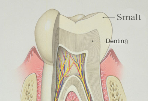 smaltul dentar