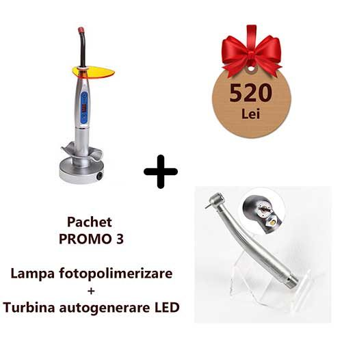 pachet promotional promo3 turbina led lampa