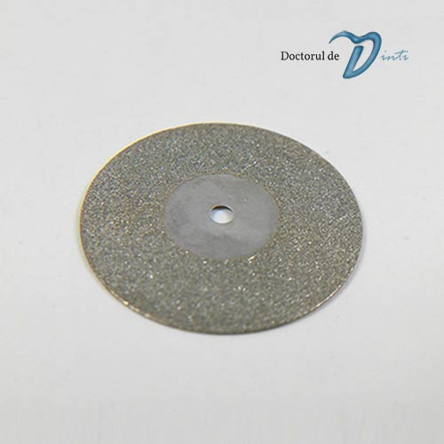 Disc Diamantat Tehnica Dentara de 190 mm grosime 045 Granulatie Medie