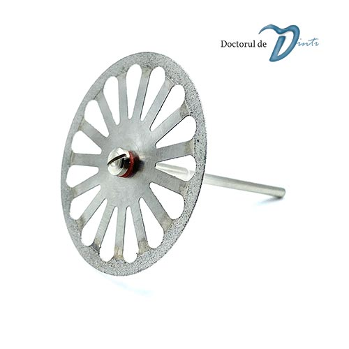 Disc diamantat sectionare modele gips 40 mm C05