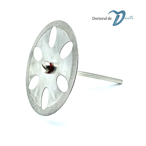Disc diamantat sectionare modele gips 40 mm C07
