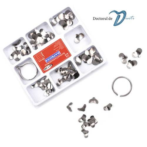 Kit matrici metalice sectionale TOR VM 1398 100 buc